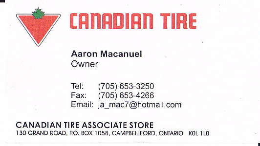 Campbellford Canadian Tire