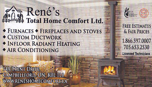 Rene`s Total Home Comfort Ltd.