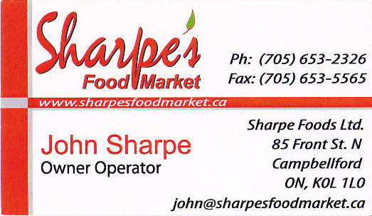 Sharpe`s Food Market